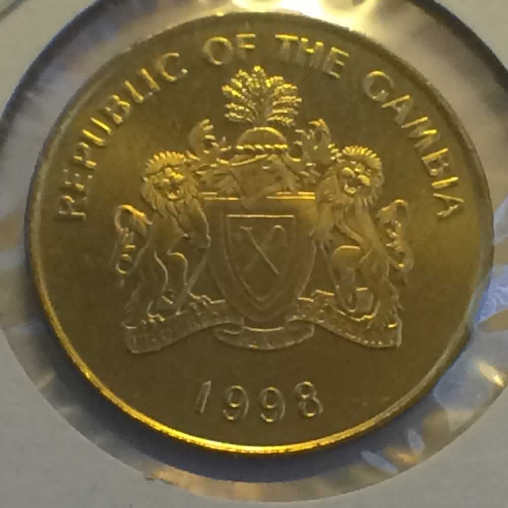 Gambia 1998  10 Bututs ( 10b ) - Obverse