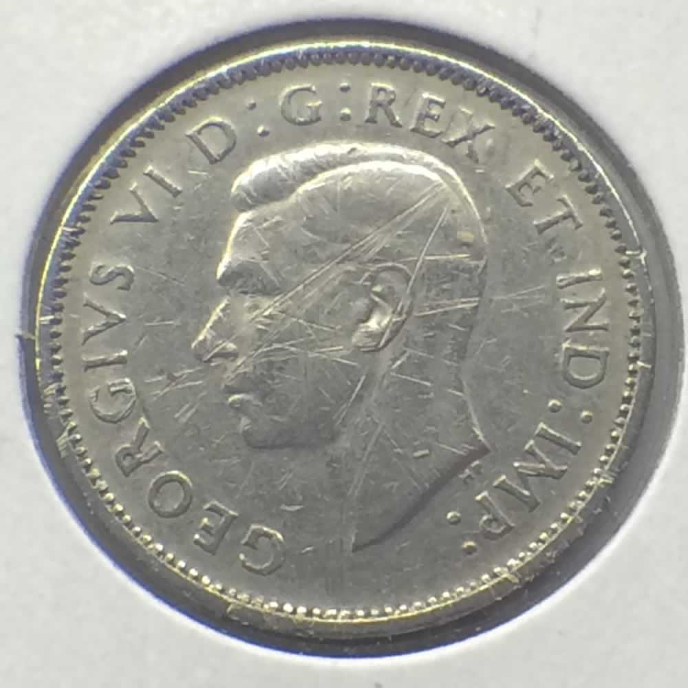 Canada 1941  Canadian 5 Cents ( C5C ) - Obverse