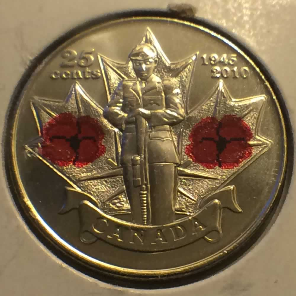 Canada 2010  Remembrance Day ( C25C ) - Obverse