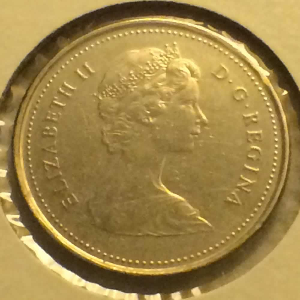 Canada 1981  Canadian Ten Cents ( C10C ) - Obverse