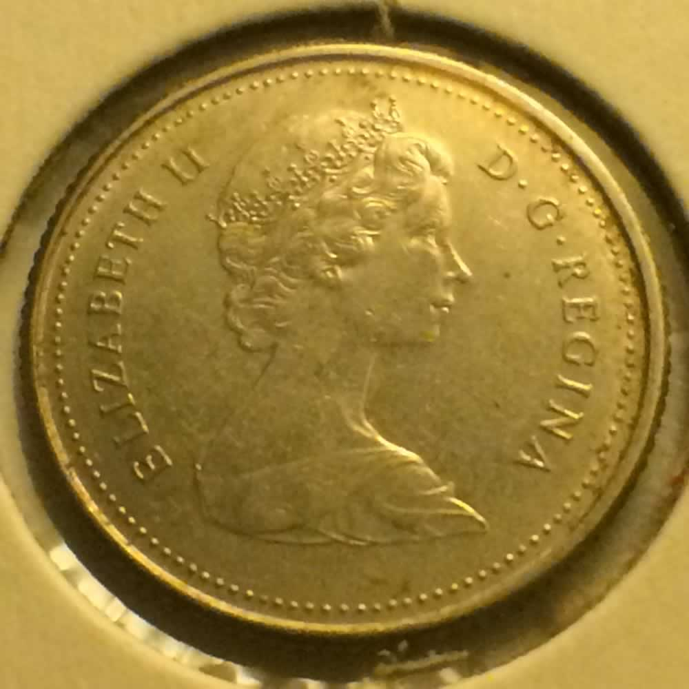 Canada 1983  Canadian Ten Cents ( C10C ) - Obverse