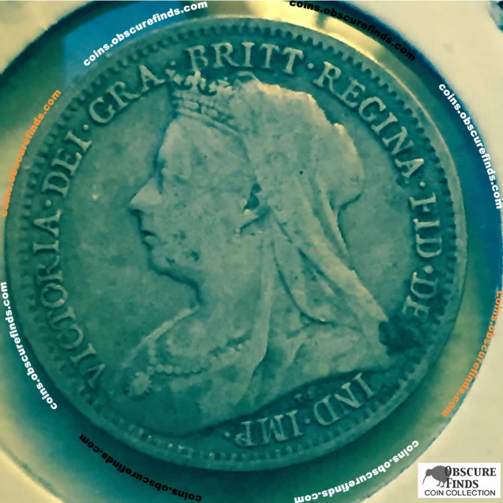 GB 1898  Silver 3 Pence ( 3P ) - Obverse