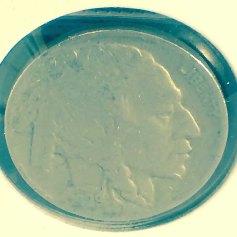 US 1929  Buffalo Nickel ( 5C ) - Obverse