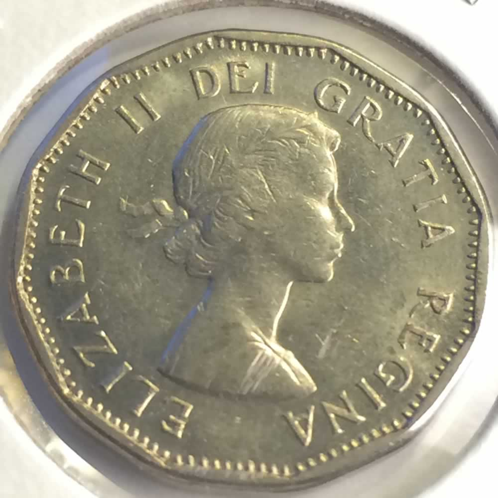 Canada 1959  Canadian Five Cent ( C5C ) - Obverse