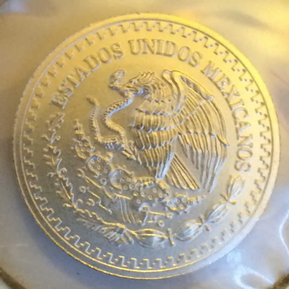 Mexico 2014 Mo 20th Onza Libertad ( 1/20ozt ) - Obverse